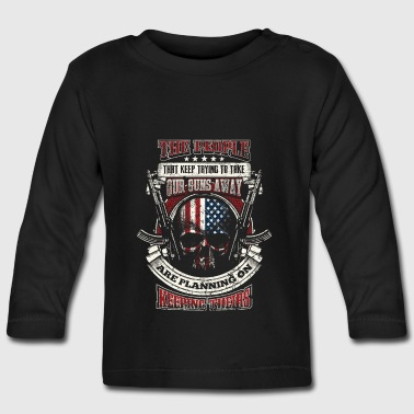 2nd Amendment - EN - Långärmad T-shirt baby