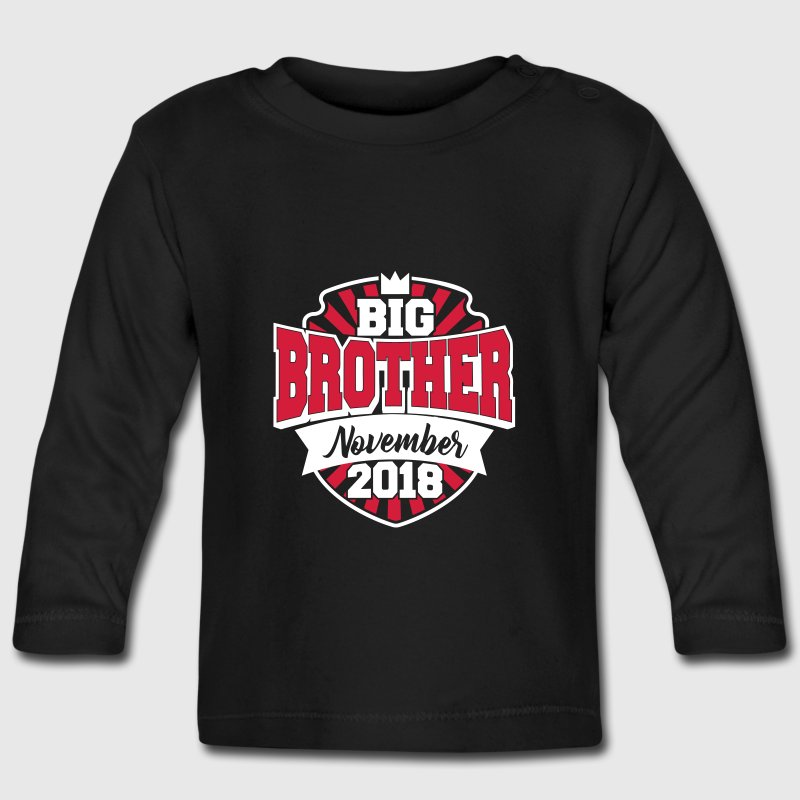 Big Brother November 2018-grote broer 2018-baby - T-shirt