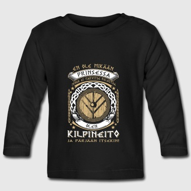 Shieldmaiden - not Princess - FI - Baby Long Sleeve T-Shirt