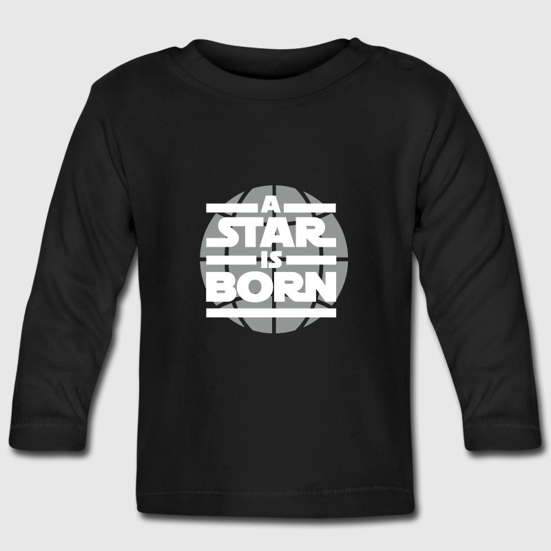 a star is born - Långärmad T-shirt baby