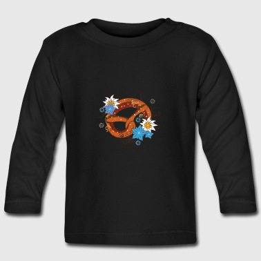 A Bavarian pretzel  - Baby Long Sleeve T-Shirt