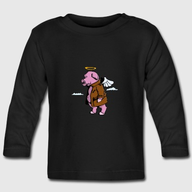 Piggy goes to Heaven - Långärmad T-shirt baby