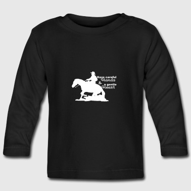 Western riding - Baby Long Sleeve T-Shirt