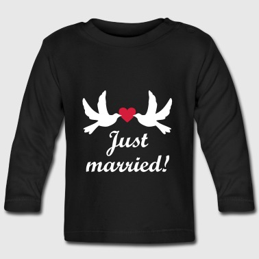 Married wedding Bride honeymoon journey tour - Baby Long Sleeve T-Shirt
