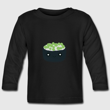 Sushi with green caviar - Baby Long Sleeve T-Shirt