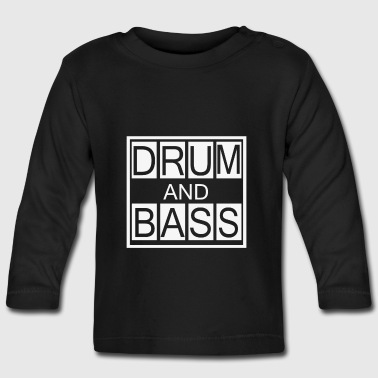 DNB Shirt, Drum and Bass Geschenk - Baby Langarmshirt