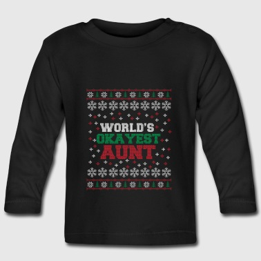 Beste tante ugly Christmas sweater vergif - T-shirt