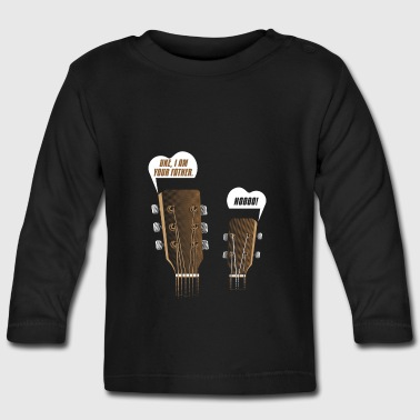 Ukulele guitar gift Uke you are my father - Baby Long Sleeve T-Shirt