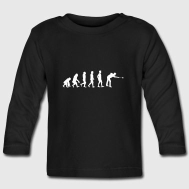 Evolution Billard - Baby Long Sleeve T-Shirt