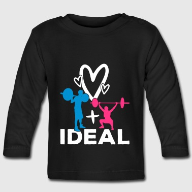 asociación ideal - Camiseta manga larga bebé