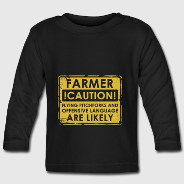 Farmers pitchforks - Baby Long Sleeve T-Shirt