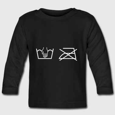 Ironing - Baby Long Sleeve T-Shirt