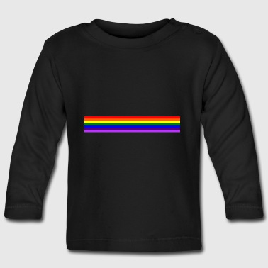 Band rainbow / rainbow band - Baby Long Sleeve T-Shirt