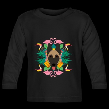 Tropical - Baby Long Sleeve T-Shirt