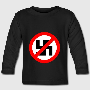 Fuck Nazi's - Baby Long Sleeve T-Shirt