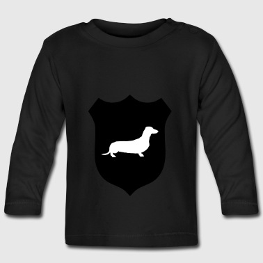 Dachshund Crest - Baby Long Sleeve T-Shirt