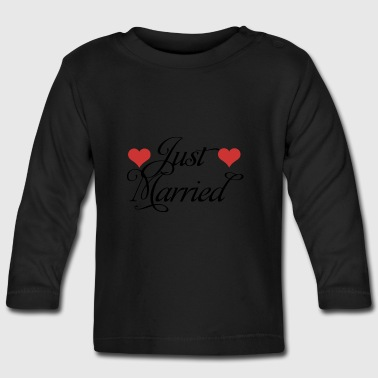 Just Married - Baby Long Sleeve T-Shirt