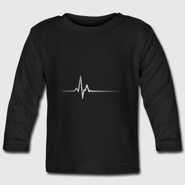 Silver Heartbeat - Baby Long Sleeve T-Shirt