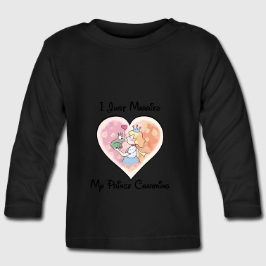 Just Married Mon prince charmant - T-shirt manches longues Bébé