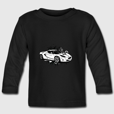 Cool white sportscar - Baby Long Sleeve T-Shirt