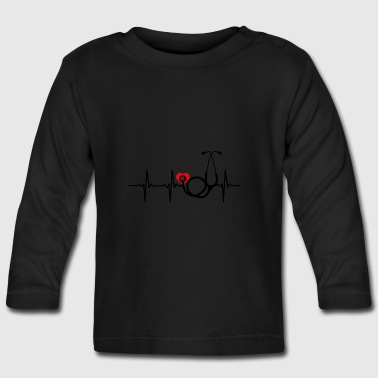 ++ ++ Nurse with heart - Baby Long Sleeve T-Shirt
