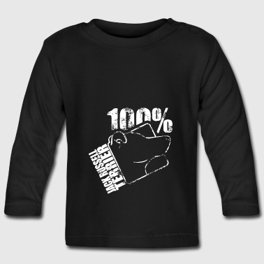JACK RUSSELL TERRIER 100 - Baby Long Sleeve T-Shirt