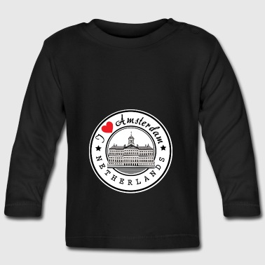 Amsterdam I Love You - Baby Long Sleeve T-Shirt
