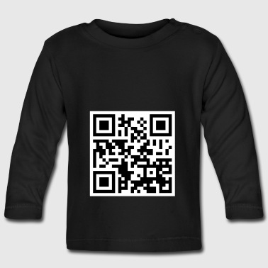 Offensive QR Code - Baby Long Sleeve T-Shirt