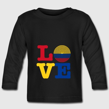Colombia HEART - Baby Long Sleeve T-Shirt
