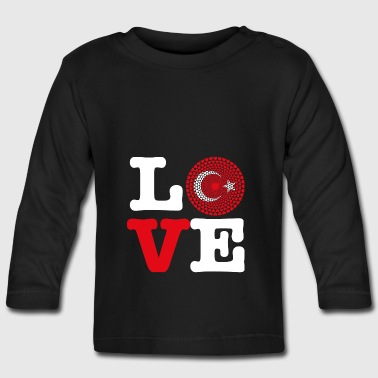 TURKEY HEART - Baby Long Sleeve T-Shirt
