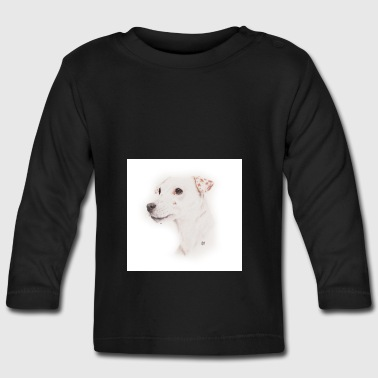 Jack Russell, Whistle - Baby Long Sleeve T-Shirt
