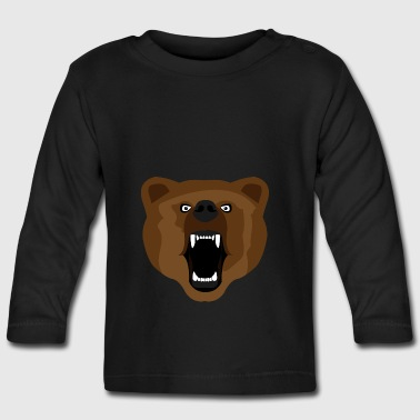 Ours / Ours / Медвед / agressif - T-shirt manches longues Bébé