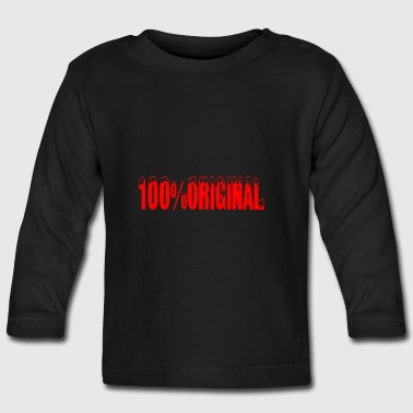 original - Baby Long Sleeve T-Shirt