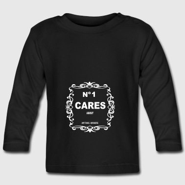 NO 1 CARES - Baby Long Sleeve T-Shirt
