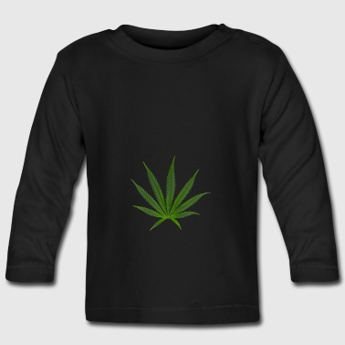 cannabis sativa - Camiseta manga larga bebé