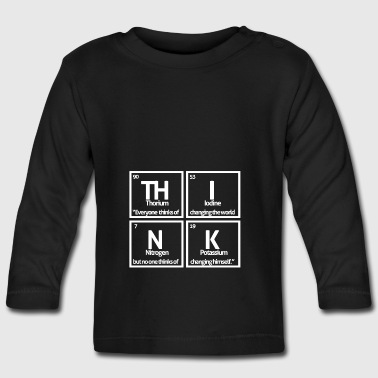 Periodic table elements: - Baby Long Sleeve T-Shirt