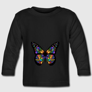 Butterfly - Abstract - Langærmet babyshirt