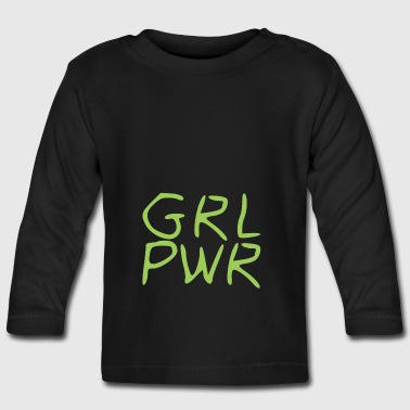 Girl Power - Camiseta manga larga bebé