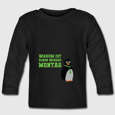 Again Monday - Baby Long Sleeve T-Shirt