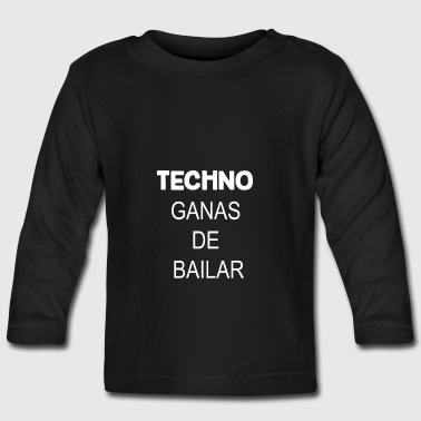 TECHNO - Baby Long Sleeve T-Shirt