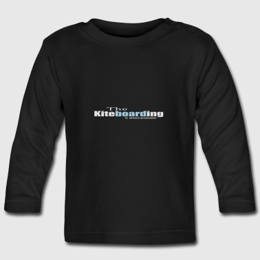 the kiteboarding - Baby Long Sleeve T-Shirt