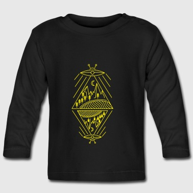 UFO ALIEN - Baby Long Sleeve T-Shirt