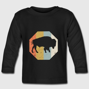 Wisent Wild Western Indian Buffalo Vintage - Baby Long Sleeve T-Shirt