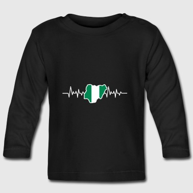 Nigeria flag - Baby Long Sleeve T-Shirt