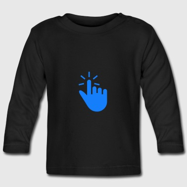 technology Hand - Baby Long Sleeve T-Shirt