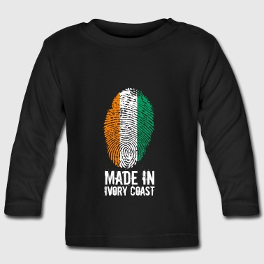 Made In Ivory Coast / Ivory Coast - Baby Long Sleeve T-Shirt