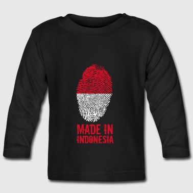 Hecho en Indonesia / Indonesia - Camiseta manga larga bebé