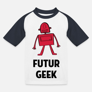 Roboter / Geek / Baby / Kind / Robot - Kinder Baseball T-Shirt