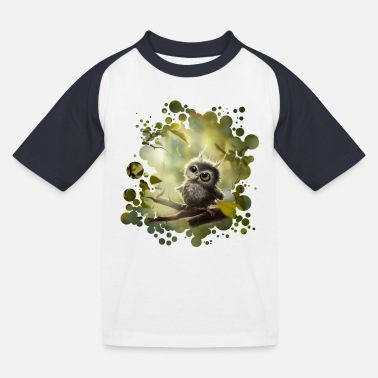 Liten ugle (Little Owl) - Baseball-T-skjorte for barn