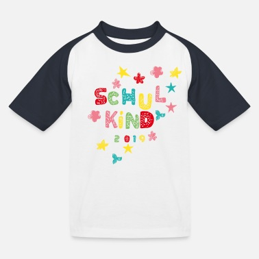 First Day Of School Schoolchild 2019 - Kids' Baseball T-Shirt